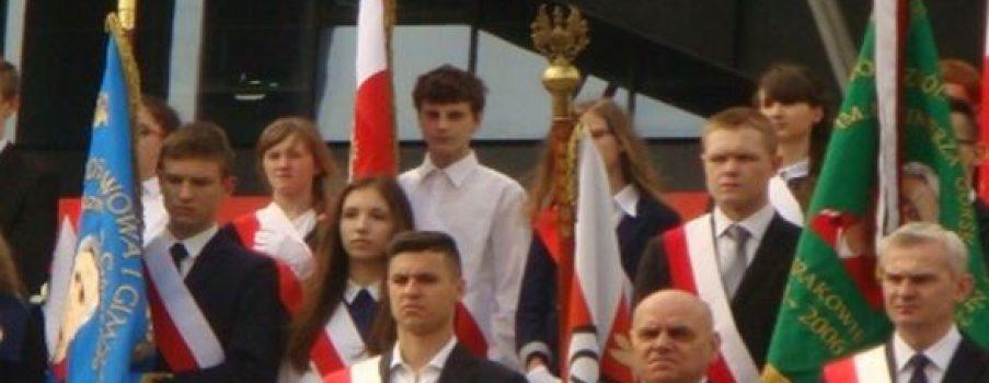 Uroczyste odsłonięcie pomnika Kazimierza Górskiego
